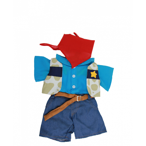 8-10 inch Cowboy Outfit