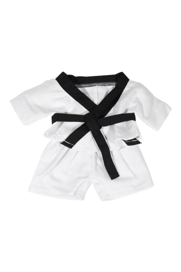 Black Belt Karate Outfit for 10-12 inch bears