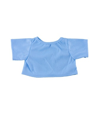 8 to 10 inch Baby Blue Shirt