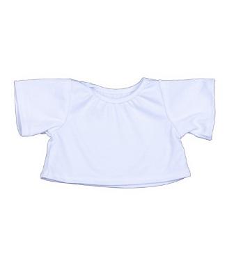 8 to 10 inch White Shirt