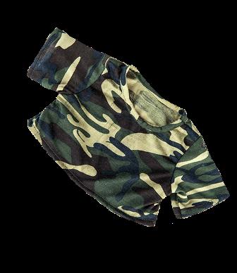 8 to 10 inch Camo Shirt