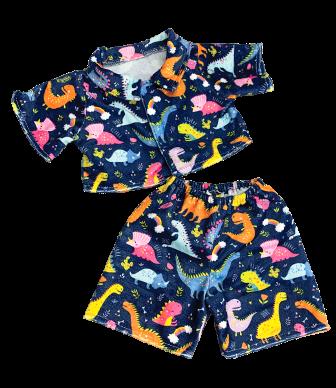 New! Dinosaur pajamas for 8-10 inch bears