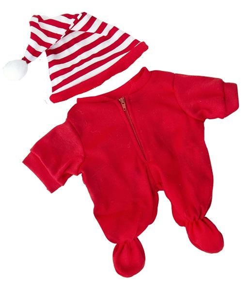 Red Drop Seat Pajamas