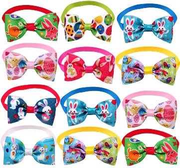 Easter Bow Ties for Teddy Bears