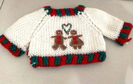 Gingerbread Couple Sweater
