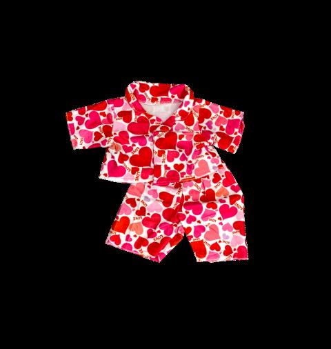 New! 2 piece Love Pajamas