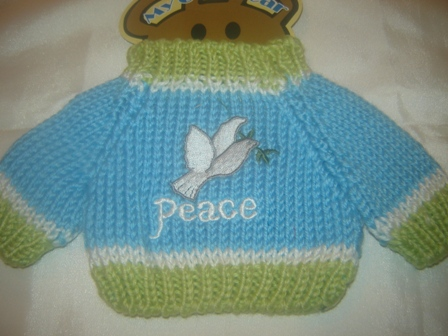 The Dove of Peace Sweater