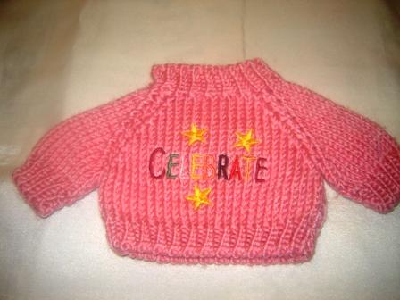 Pink Celebrate Sweater