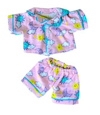 8 to 10 inch Pink Sunny Day pajamas