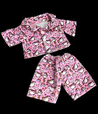 Unicorn Pajamas for 8-10 inch bears