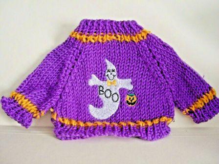 Purple Boo Sweater