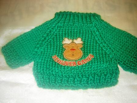 Reindeer Games Sweater