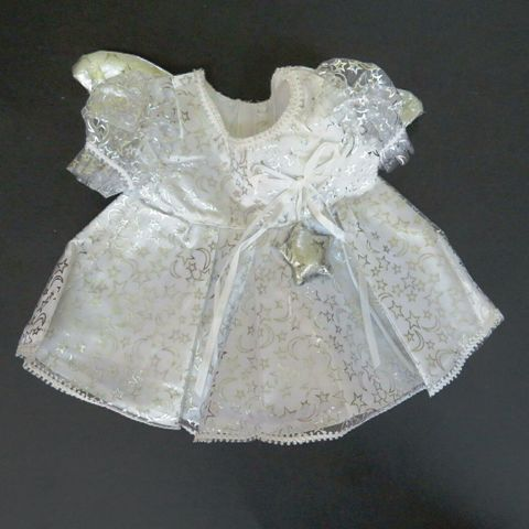 Star Angel Costume for 14-16 inch bears