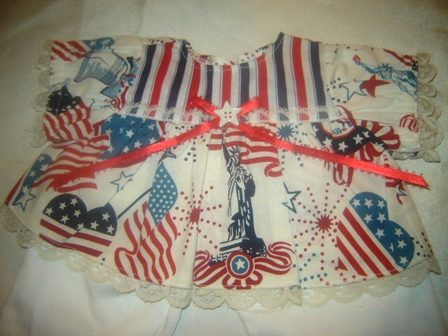 Statue of Liberty Americana Pants Set