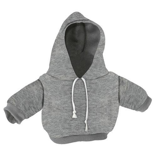 10-12 inch Grey Hoodie