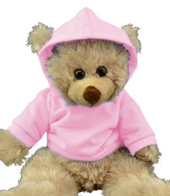 14-15 inch Pink Hoodie Tee