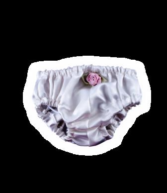 White Rosebud Panty