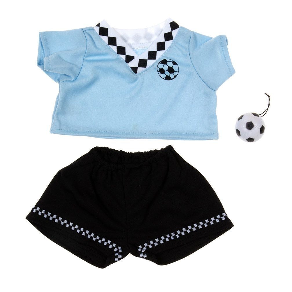 Blue Soccer Outfit