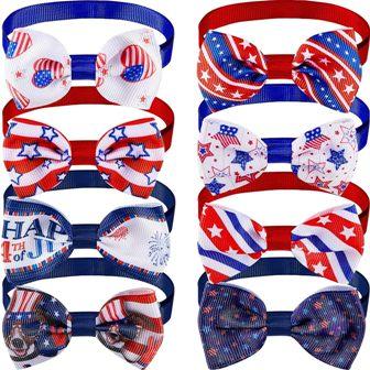 Patriotic Bow Ties