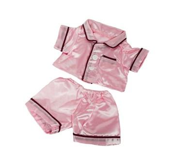 Pink Satin Pajamas