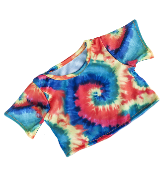 8-10 inch Tie Dyed Shirt