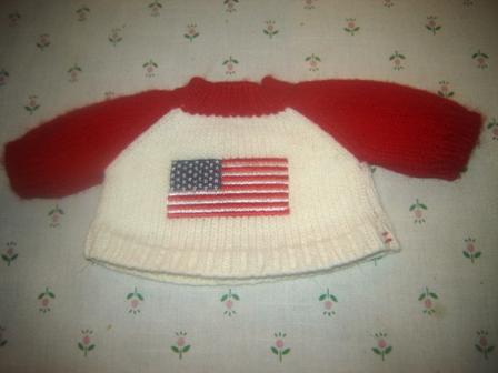 USA Flag Sweater
