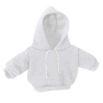 8-10 inch White Hoodie