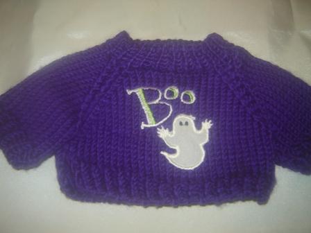Boo Ghost Sweater