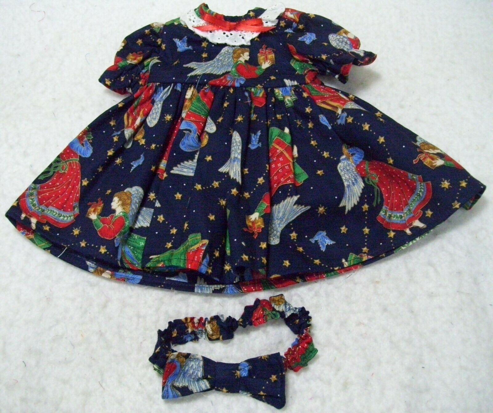 Angel Dress and Matching Headband