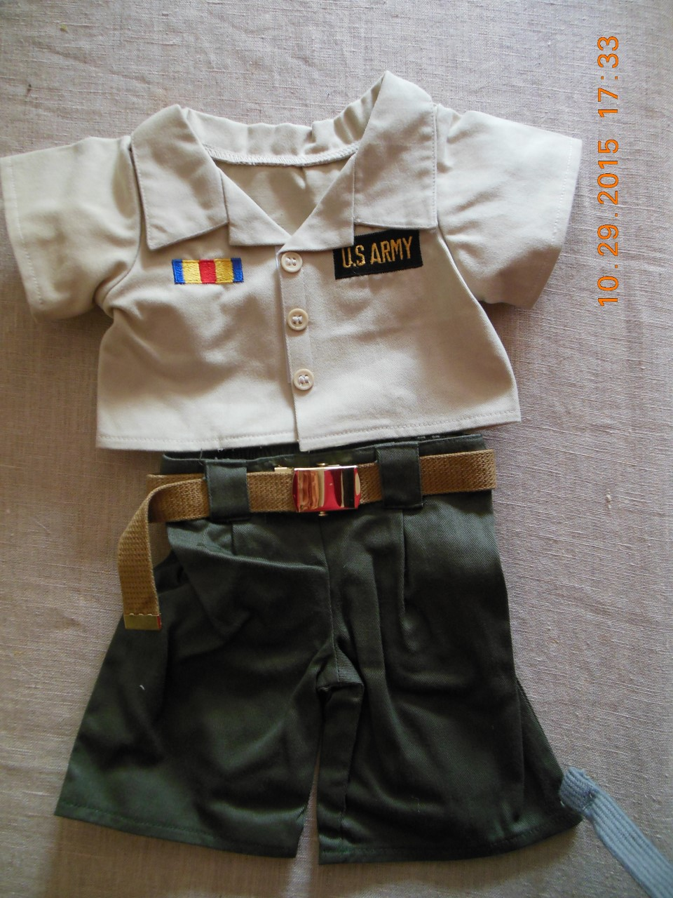 14-16 inch U.S. Army Uniform