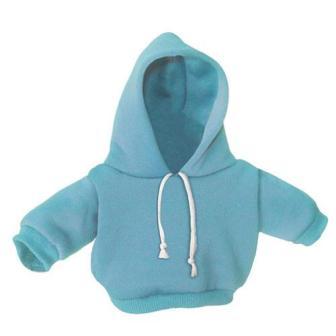 8-10 inch Baby Blue Hoodie