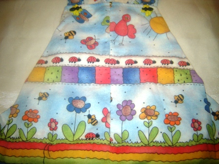 Birds and Bees Sundress