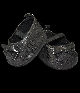 Black Sparkly Dress Shoes