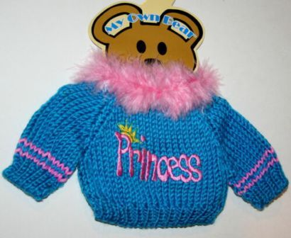 Boa Trimmed Princess Sweater