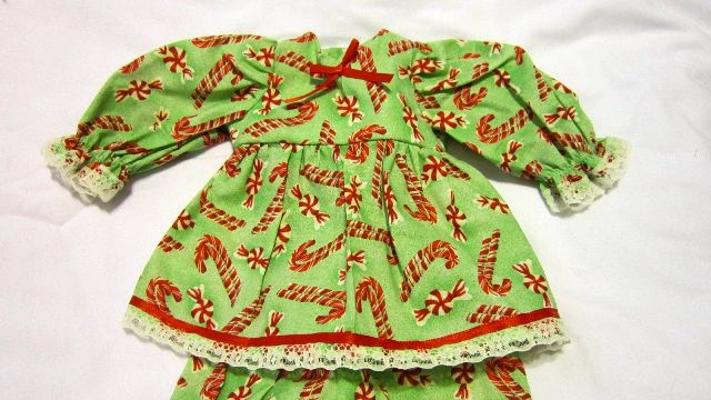 Candy Canes and Peppermint Candy Dress