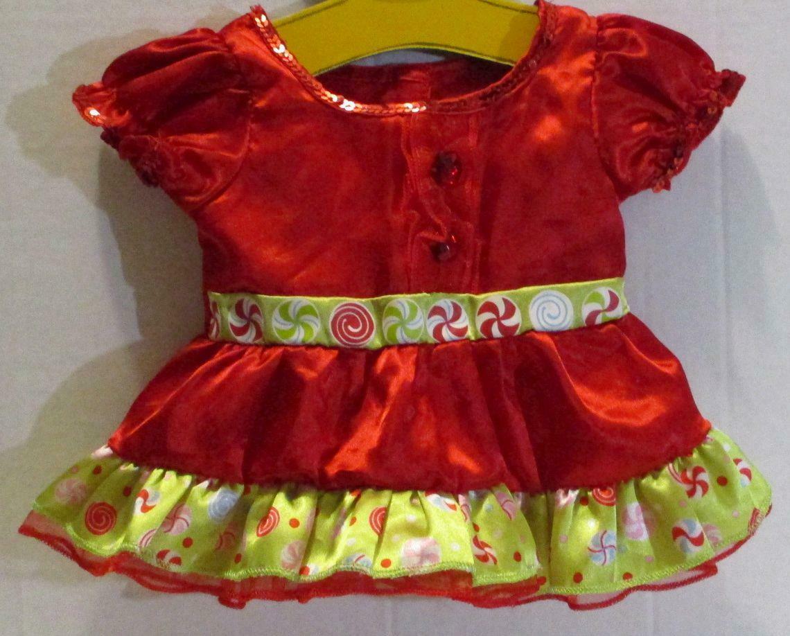 Christmas Gumdrop Candy Dress