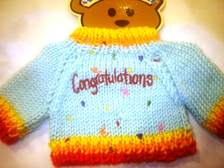 Congratulations Confetti Sweater