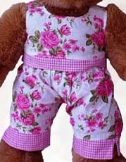 2 piece Flowers and Gingham Check pants outfit