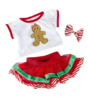 Gingerbread Girls Outfit