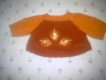 Golden Leaf Sweater