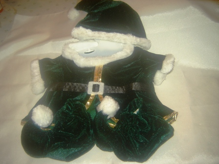 Green 3 piece Elf Outfit