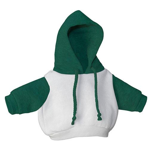White and Green Hoodie