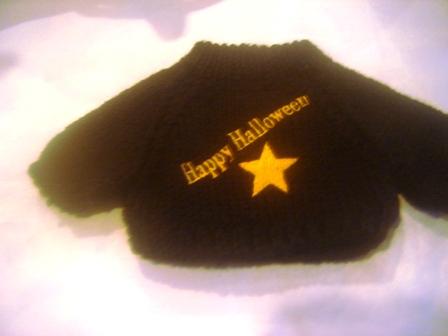 Happy Halloween Star Sweater