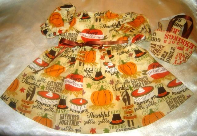 Happy Thanksgiving Dress
