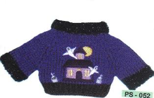 Haunted House Sweater