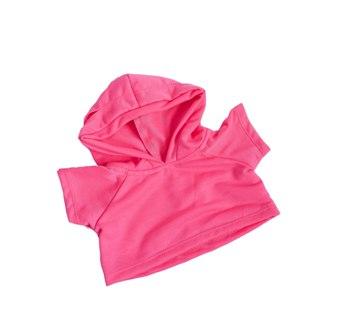 Hot Pink Hoodie Tee