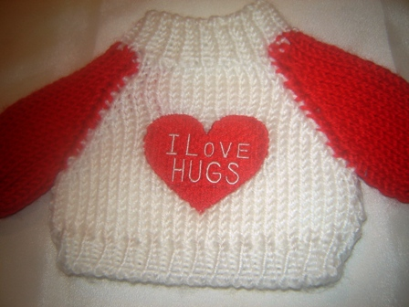 I Love Hugs Sweater