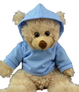14 - 15 inch Light Blue Hoodie Tee