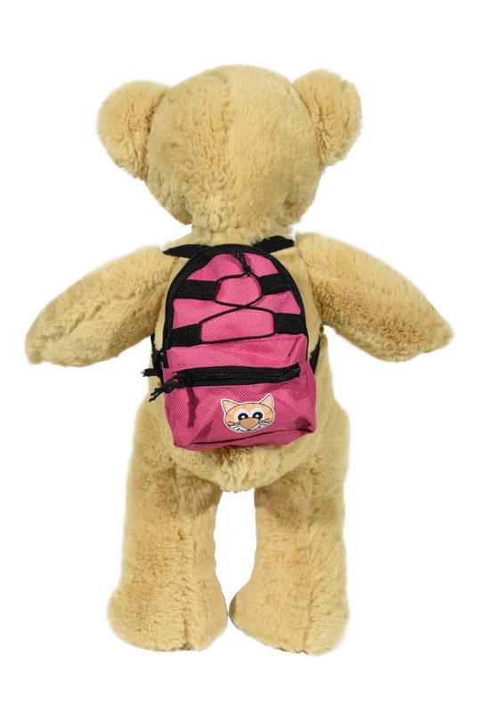 Pink and Black Back Pack