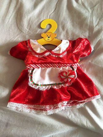 Mrs. Claus Peppermint Heart Dress